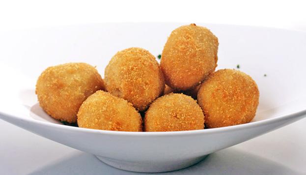 Las croquetas de Arzábal: para comer una tras otra y no parar.
