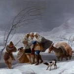 La nevada o El Invierno. 1786. Goya. Museo del Prado.