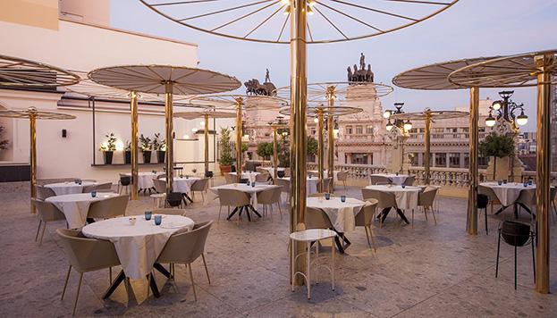 Terraza del Restaurante Paco Roncero.