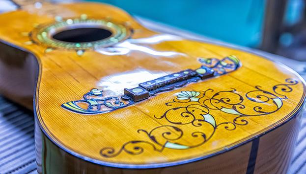 Una de las maravillas de Guitarras Ramírez (© Álvaro López del Cerro).