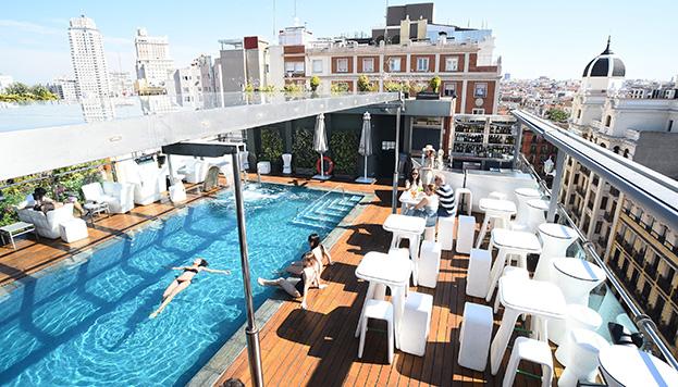 Piscina del Hotel Santo Domingo