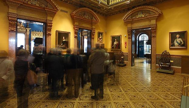 Esthète, José Lázaro-Galdiano fit l'acquisition de quelques-uns des portraits les plus beaux de la peinture universelle.