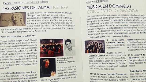 Le programme musical de la Fondation Juan March : ce sont plusieurs centaines de concerts gratuits à l'année !