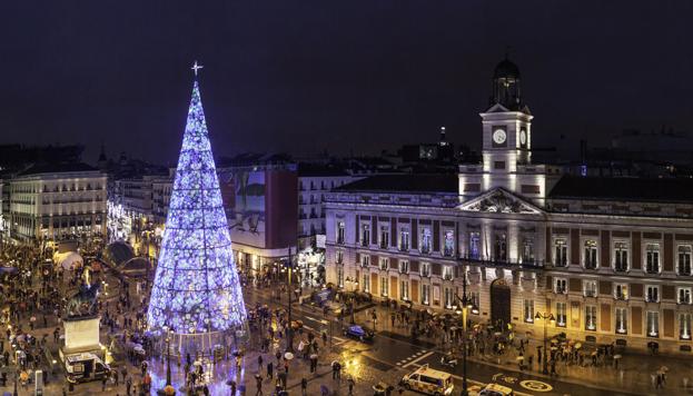 À Madrid, les fêtes de Noël marquent tout le mois de décembre et culminent avec l'Épiphanie.