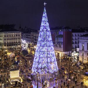 La magie de Noël à Madrid