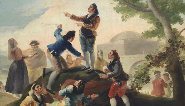 Goya en Madrid. Museo del Prado.
