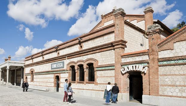 Cineteca. Matadero Madrid (©JoseBarea).