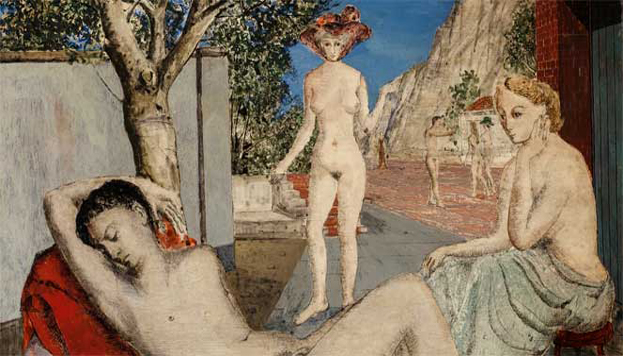 Paul Delvaux. Museo Thyssen-Bornemisza