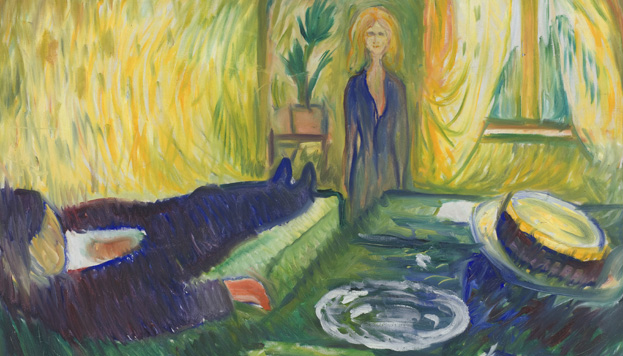 Edvard Munch. Mord, 1906 (©Munch Museum / Munch-Ellingsen Group / VEGAP, MAdrid 2015).