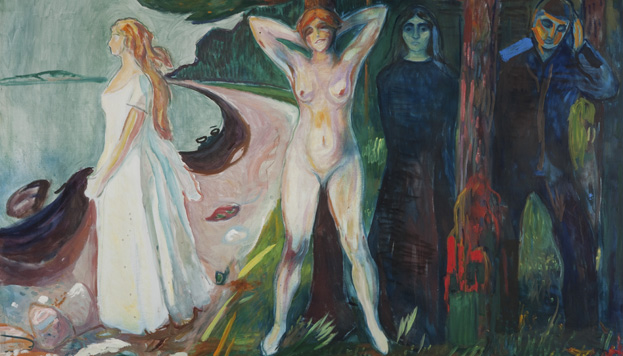 Edvard Munch. Kvinnen, 1925. (©Munch Museum / Munch-Ellingsen Group / VEGAP, MAdrid 2015).