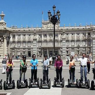 Madrid su due ruote