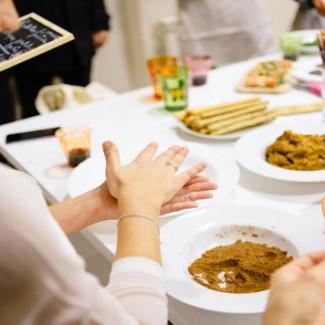 Cena a casa di un madrileno con Vizeat